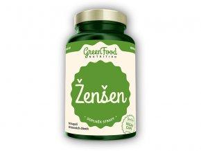 GreenFood Nutrition ženšen 60 vegan kapslí