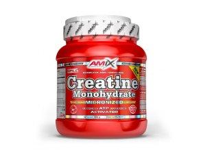 Amix Creatine Monohydrate 500g  + šťavnatá tyčinka ZDARMA
