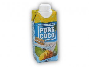 Pure Coco Pure Coco with Pineapple 330ml