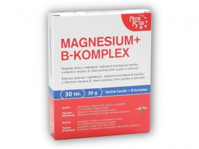 Nutristar Magnesium B-komplex 30 tablet