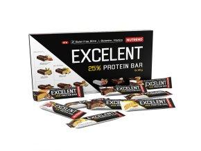 Nutrend Excelent 25% Protein Bar 85g gluten free