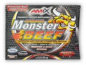 PROTEIN Amix Anabolic Monster BEEF 90% 33g akce