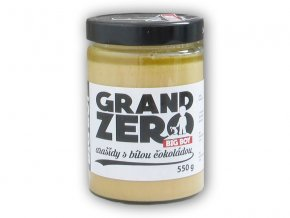 BigBoy Grand zero arašídový krém bílá čoko 550g
