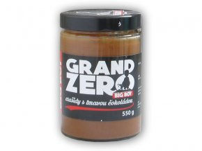 BigBoy Grand zero arašídový krém tmavá čoko 550g