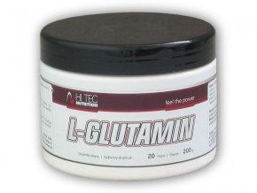 Hi Tec Nutrition L-Glutamin 200g  + šťavnatá tyčinka ZDARMA