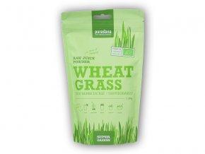 Purasana BIO Sup.Gr. Wheat Grass Raw Juice Powder 200g  + šťavnatá tyčinka ZDARMA