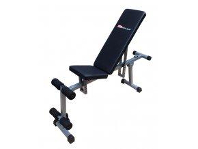 ACRA Posilovací lavička sit/up/bench  + šťavnatá tyčinka ZDARMA