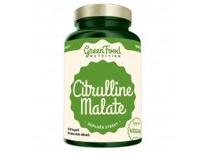 GreenFood Nutrition Citrulline malate 120 kapslí