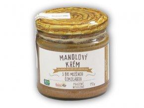 Božské oříšky Mandlový krém s BIO čokoládou 190g