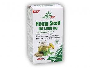Amix GreenDay ProVEGAN Hemp Seed Oil 1000mg 90 cps