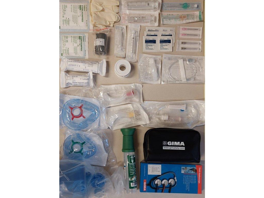 Doplnění vybavení pohotovostní lékárny v ordinaci zubního lékaře