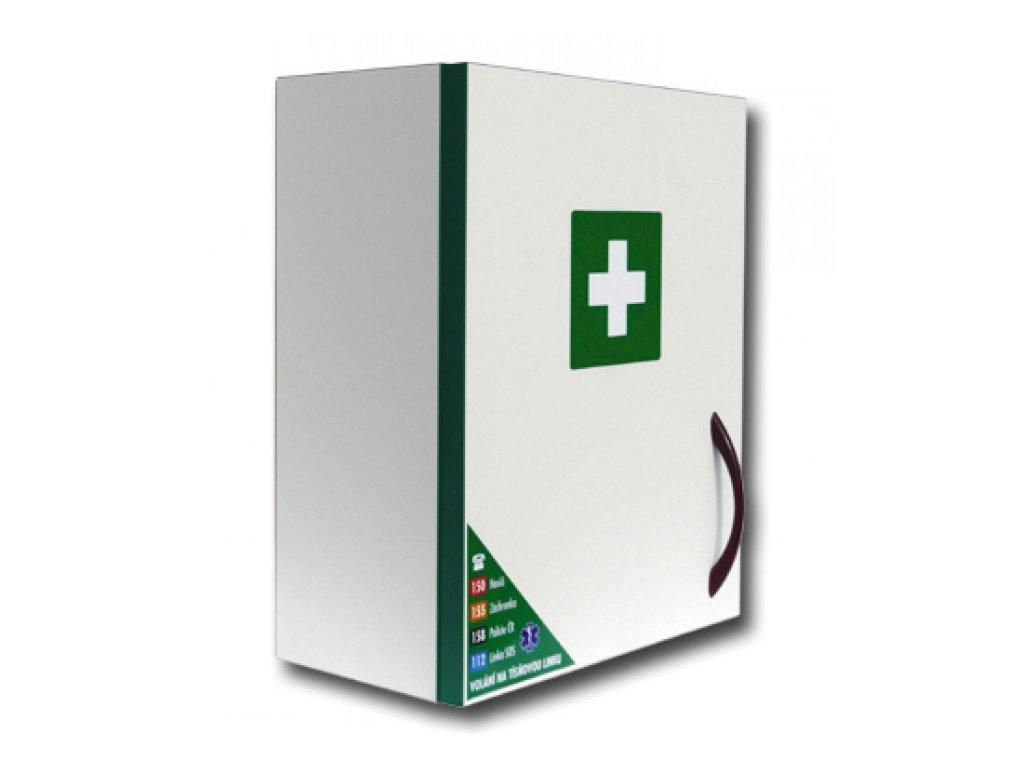 MEDIBOX závěsná lékárnička z bílého lamina - nevybavená