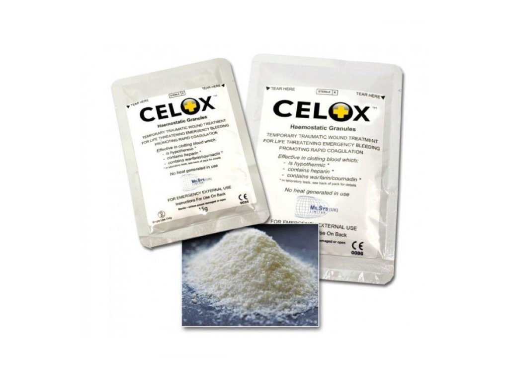 CELOX 15g - hemostatické granule