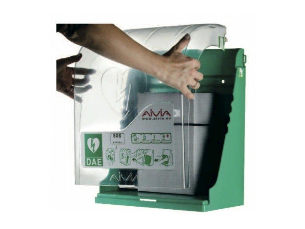 AED skříňka s alarmem AIVIA 100