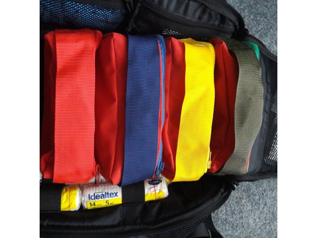 ORGANIZERY do zdravotnických batohů a tašek