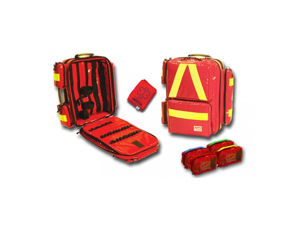 Resuscitační batoh X-line PROFESIONAL