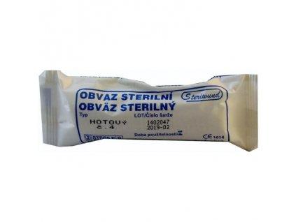 Obvaz hotový - sterilní č. 4