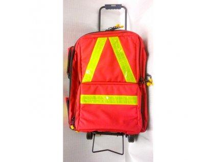 Batoh (kufr) záchranářský na kolečkách