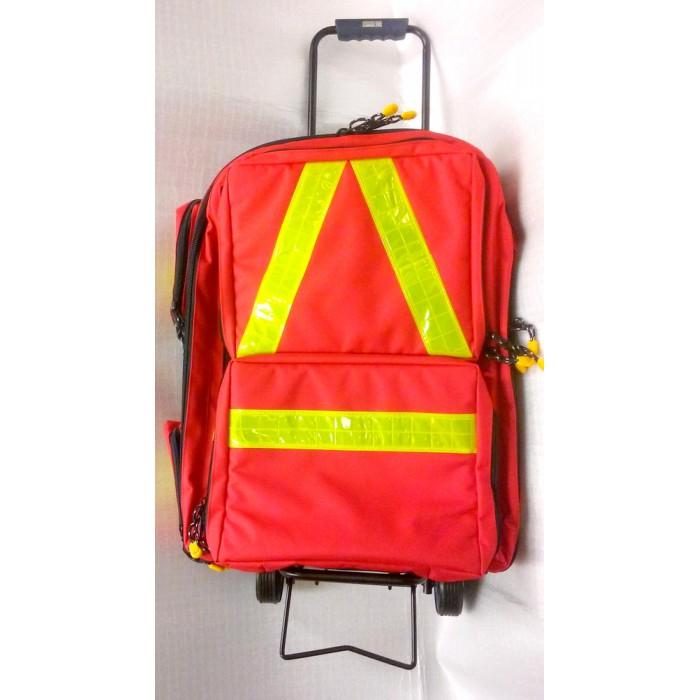 Batoh (kufr) záchranářský na kolečkách Povrchová úprava: EDT
