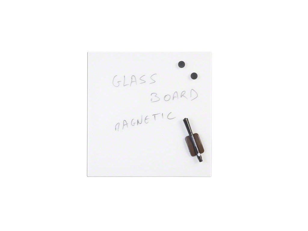 sklenena popisovaci tabule bila 480x480 mm original