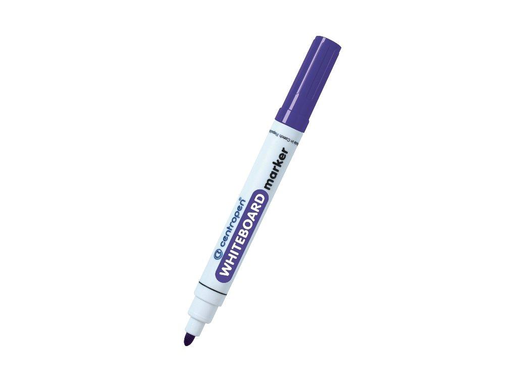 Centropen popisovač na bílé tabule - fialový