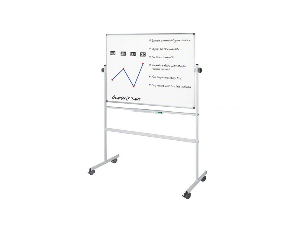mobilni oboustranna magneticka tabule 1200x900 mm original
