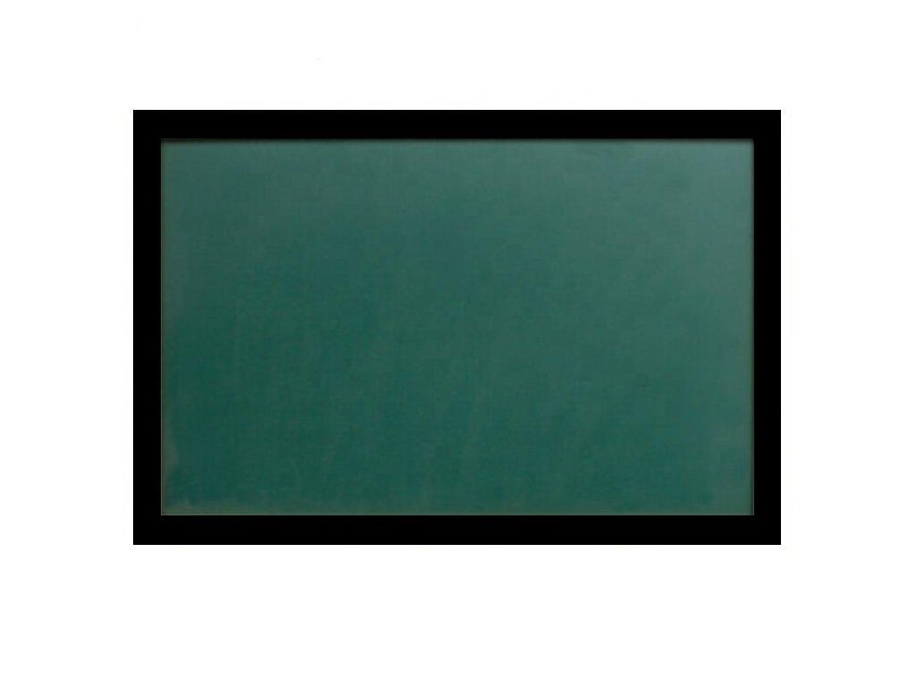 Zelená magnetická tabuľa s dreveným rámom