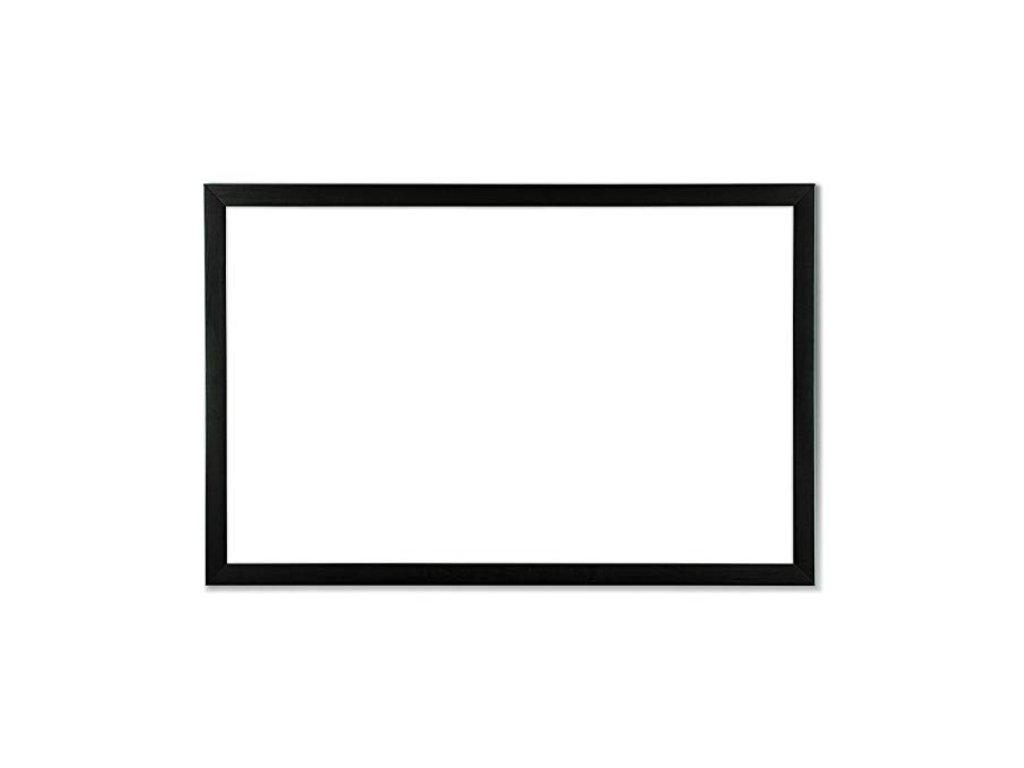 Biela magnetická tabuľa s dreveným rámom