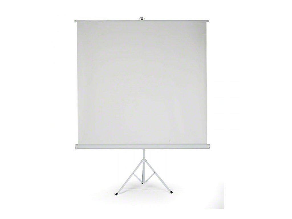 projekcni platno na stojanu 180x180 cm