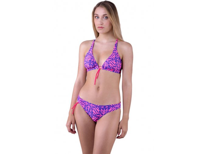 Lily Variable Top - Pink/Blue Ornament