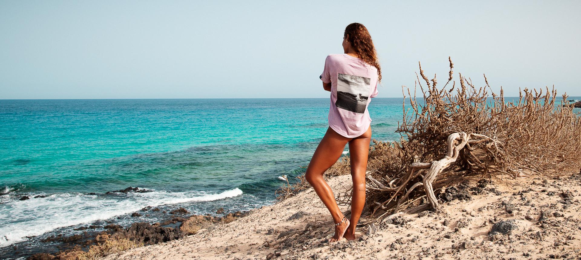 Surfové bio tričko SURF DREAM Burro Fuerteventura
