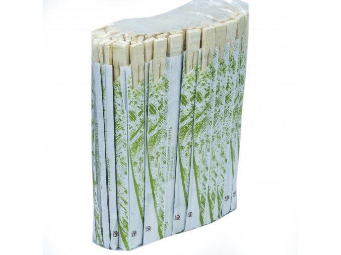 Hůlky dřevěné jednorázové 100párů