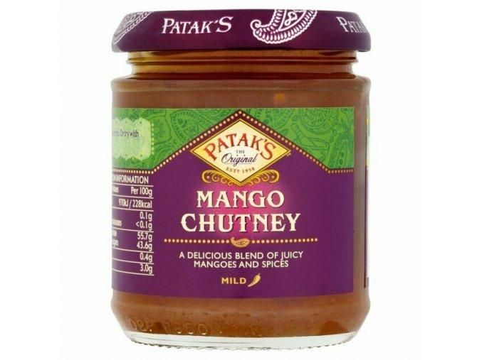 chutney čatní mango