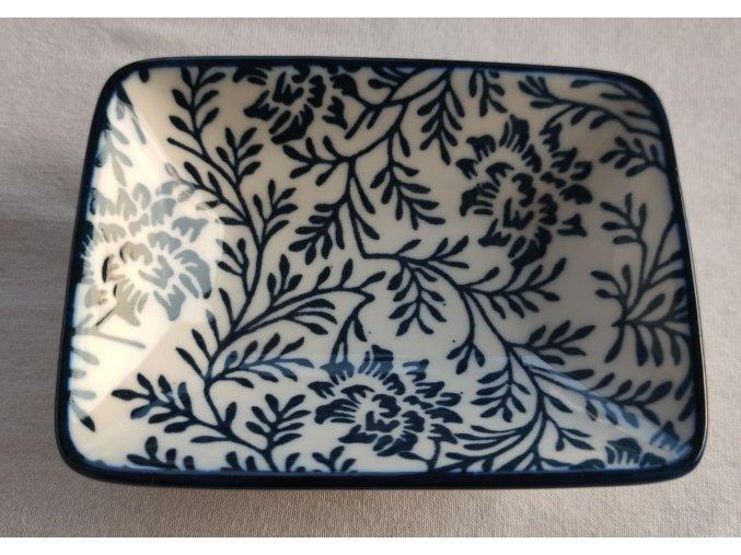 miska porcelánová květy