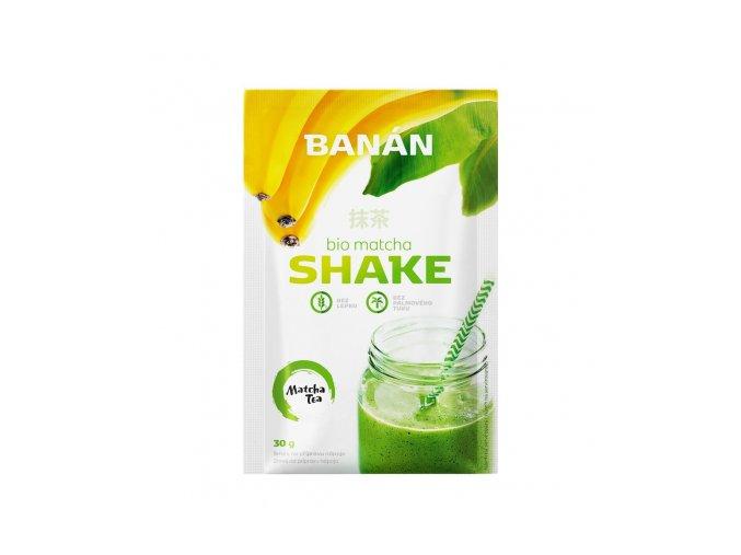 matcha tea shake banan 30g