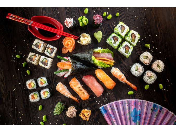 Zážitkový kurz přípravy sushi 1