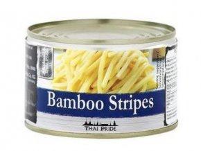 bambus proužky v konzervě