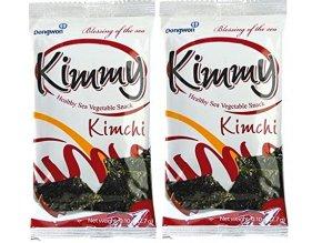 Řasy ochucené s kimchi 8x2,7g