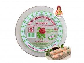 rýžový papír na nesmažené závitky