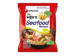 polévka Seafood ramyun