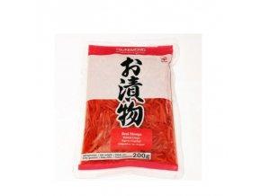 pickled ginger stripes red salt and vinegar 1kg benishouga daruma japan
