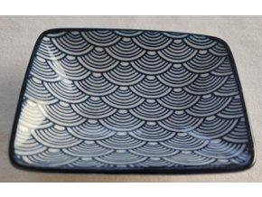 miska porcelánová vlnky