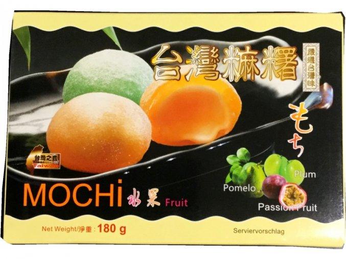 Ryžové koláčiky Mocha - ovocný mix