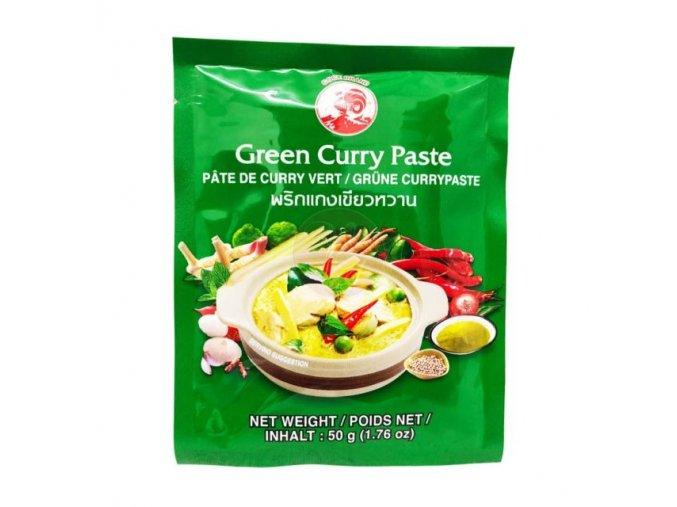 kari pasta zelená Cock Brand