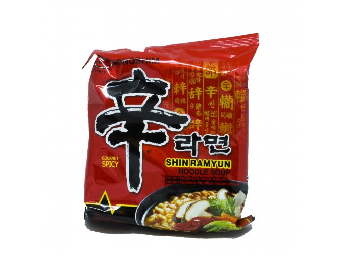 Rezancová polievka Shin Ramyun