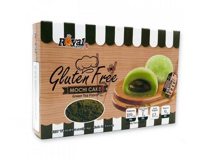 Ryžové koláčiky Mochi bezlepkové - zelený čaj