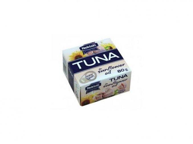 Tuniak v slnečnicovom oleji Nekton 80g