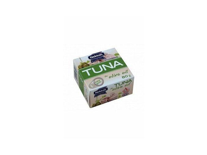 Tuniak v olivovom oleji Nekton 80g
