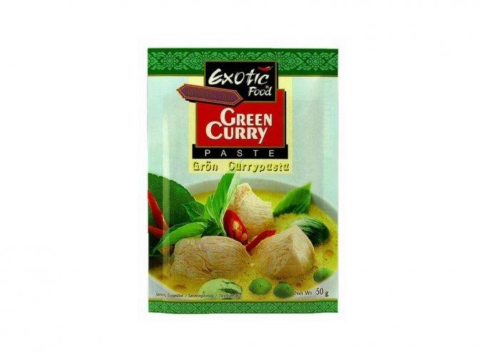 Kari pasta zelená 50g Exotic Food