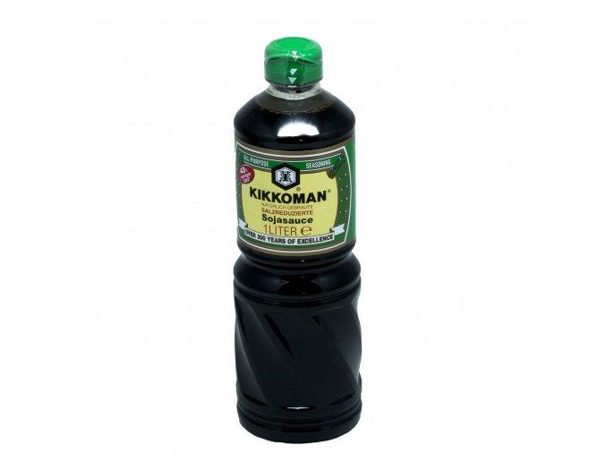 kikkoman zelený 1l less salt